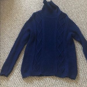 Drop needle Sweater